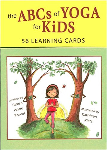 The ABCs of Yoga for Kids Learning Cards (Yoga Kids Cards compare prices)