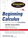 img - for Schaum's Outline of Beginning Calculus (Schaum's Outlines) book / textbook / text book