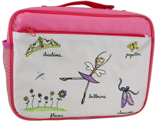 Baby Cie Soft Sided Zippered lunch box Ballerina theme - Buy Baby Cie Soft Sided Zippered lunch box Ballerina theme - Purchase Baby Cie Soft Sided Zippered lunch box Ballerina theme (Baby Cie, Home & Garden, Categories, Kitchen & Dining, Tableware)