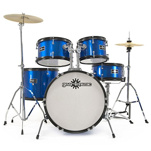 junior-5-piece-drum-kit-by-gear4music-blue