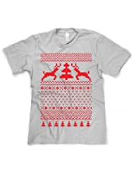 Holiday Reindeer Sweater Shirt christmas