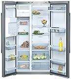 Neff K5920L0GB American Fridge Freezer Free Standing Stainless Steel