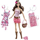 Barbie Fashionistas Teresa Ultimate Wardrobe Boho Chic Doll