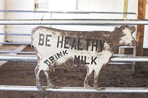 Antique Milk Cow Sign