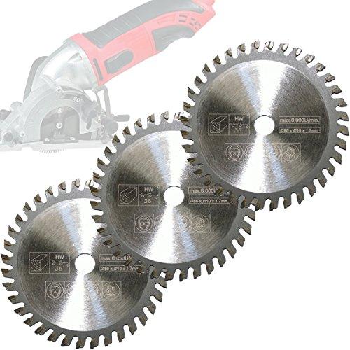 3x-mini-circular-saw-blade-wood-cutting-oe-85x10mm-36t-for-aldi-duro-lidl-norma