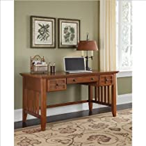 Big Sale Home Styles 5180-15 Arts and Crafts Executive Desk, Cottage Oak Finish