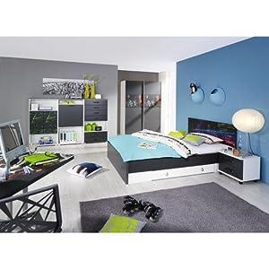 Jugendzimmer 4 teilig campus ii eiche nachbildung for Jugendzimmer amazon