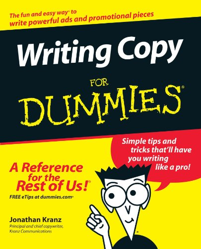 Writing CopyFor Dummies