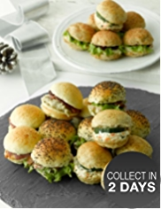 Festive Cocktail Mini Roll Selection