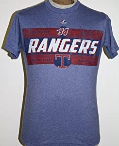 MLB Majestic Nolan Ryan Texas Rangers Cooperstown Driven By Results Player T-Shirt -... by Majestic