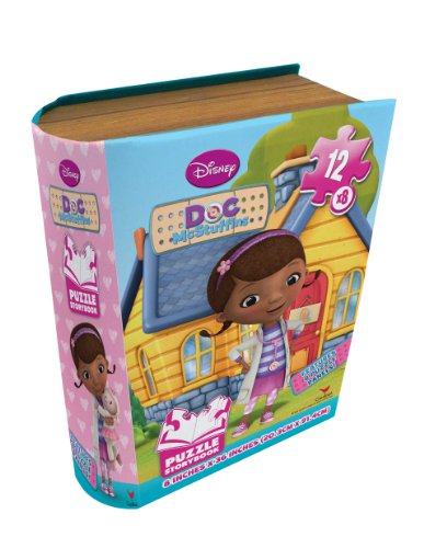Disney Junior Doc McStuffins Puzzle Storybook 8 Panel Puzzle