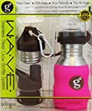 IMPROVED! G2 WAVE Stainless Steel Grow Bottle System With Silicone Sleeve in Pink