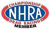 NHRA Drag Racing Member Decal