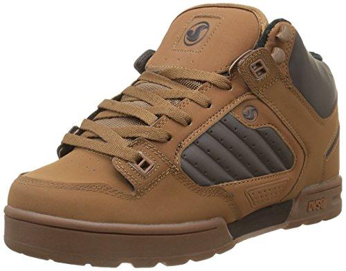 DVS SHOESMilitia Boot - Scarpe da Skateboard Uomo , marrone (Braun (BRN Gum Nubuck 213)), 43 EU