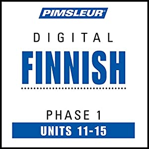 Finnish Phase 1, Unit 11-15 Audiobook