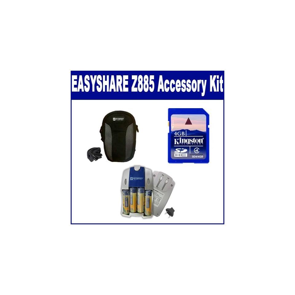 SDC-21 Case Kodak M863 Digital Camera Accessory Kit Includes: KSD2GB Memory Card SDM-158 Charger SDKLIC7001 Battery