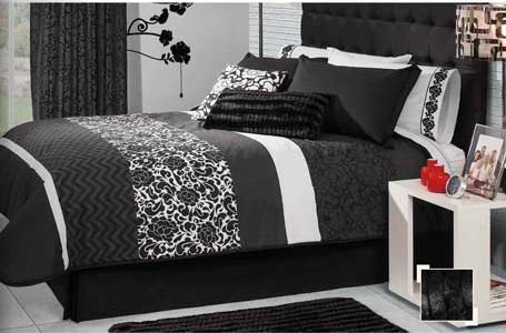 Black Vintage Bedding front-1055344