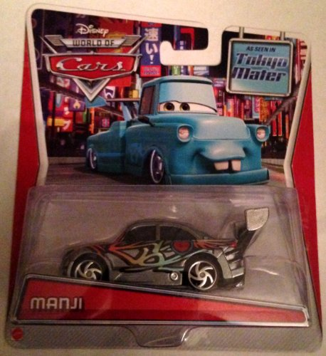 Disney Pixar Cars, Toon Die-Cast Vehicle, Manji, 1:55 Scale