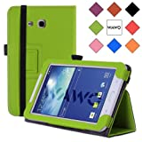 WAWO Samsung Tab 3 Lite 7.0 Inch Tablet Folio Case Cover - green