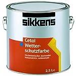 Sikkens Cetol Wetterschutzfarbe weiß 1 Liter