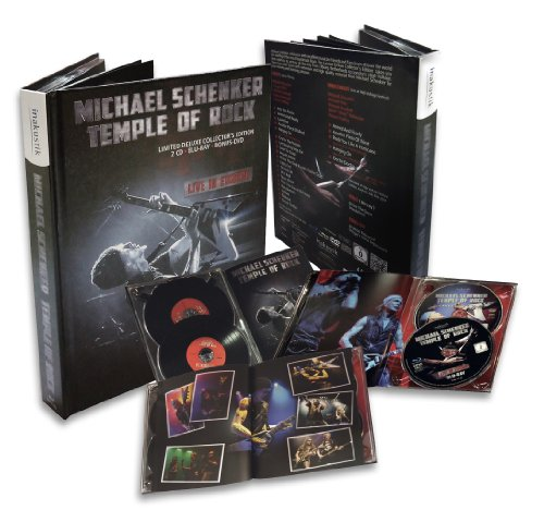 Schenker, Michael - Temple Of Rock: Live In Europe Limited Deluxe Edition BD/DVD/CD [Blu-ray]