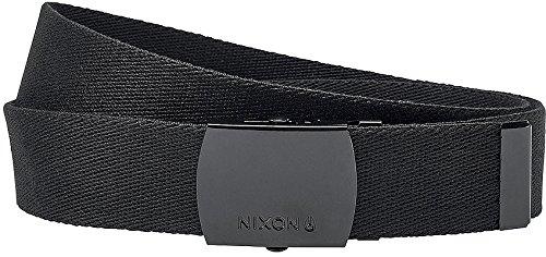 Nixon Basis Belt All Black Mens One Size