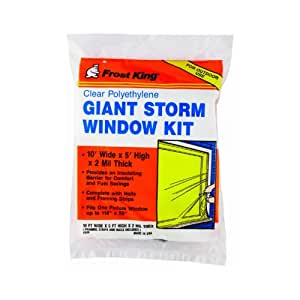 Amazon Com Frost King Outdoor Picture Storm Window Kit