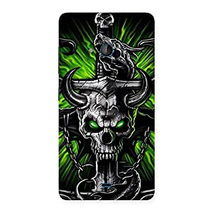 The Game Skull Back Case Cover for Lumia 540