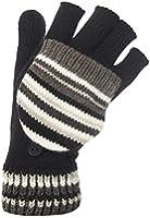 Womens Fingerless Mitten Cap Converter texting Gloves 6 Designs