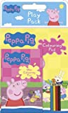 Children's Peppa Pig Play Pack With 2 Colouring Pads + 4 Mini Pencils