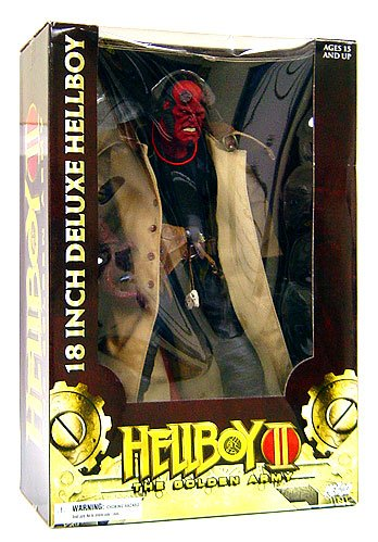Buy Low Price Mezco Hellboy 2: The Golden Army 18″ Figure (B001F0FVIA)