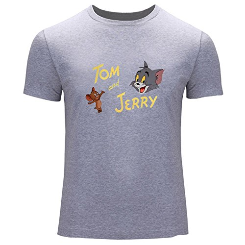 Tom and Jerry Mens Printed T Shirts
