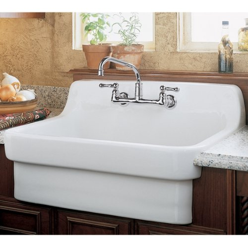 American Standard Country Kitchen Sink with 8-Inch Centers Heat 2016 new arrival 1pieces dental standard teaching model with removable teeth