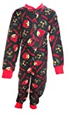 Angry Birds Little Boy's Black All in One Sleepsuit