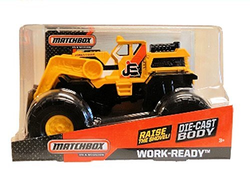 Matchbox on a Mission Work-Ready 4x4 by Mattel
