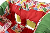 Exclusive shopping cart cover | Grocery shopping cart covers for baby | Handy as high chair cover in high chairs for babies | Keep baby safe from bacteria & falls, and entertained | By Sazmo eBaby