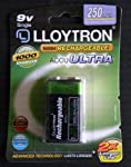 Lloytron PP3 250mah Rechargeable Battery - High Capacity by Lloytron
