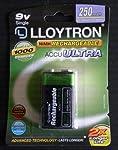 Lloytron PP3 250mah Rechargeable Battery - High Capacity by Lloytron