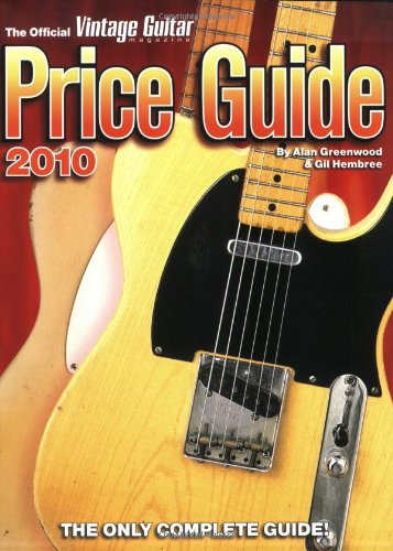 2010 Official Vintage Guitar Magazine Price Guide
