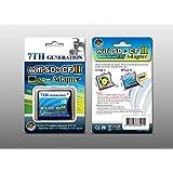 Wifi SD対応 SD カードからCF TYPE II 5mm への変換アダプター 海外パッケージ品