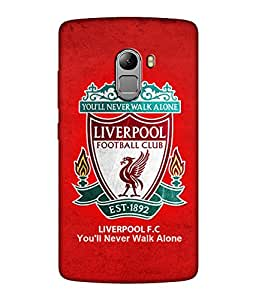 chnno Liverpool 3D Printed Back cover for Lenovo Vibe K4 Note -Multicolor