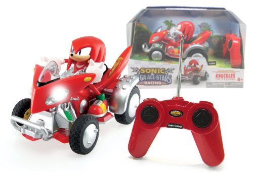 "#1 Knuckles The Echidna ~6.5"": Sonic and Sega All Stars Racing Remote Controlled Car  Best Offer"