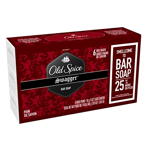 Old Spice Red Zone Swagger Scent Bar Soap Pack Of 6 - 29.8 ...