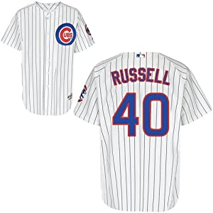 Buy James Russell Chicago Cubs Home Authentic Jersey by Majestic by Majestic