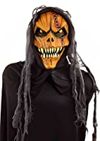 Forum Novelties Men's Hooded Pumpkin Monster Mask from Forum Novelties Costumes
