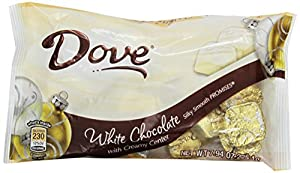 Dove Promises Silky Smooth White Chocolate with Creamy Center, 7.94-Ounce