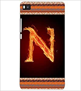 PrintDhaba GRANDbet N D-2541 Back Case Cover for HUAWEI P8 (Multi-Coloured)
