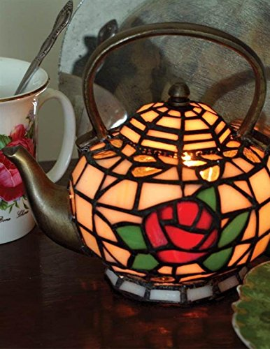 Electric Illuminating Teapot Lamp Great for Kitchen 25 watts (Cordless Teapot Lamp compare prices)
