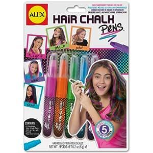 Cheveux craie stylos-divers coloris