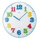 Felio(フェリオ) アナログ壁掛け時計 ランチボックス ブルー FEW134BU